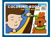 Coloring Book 32: Jim and His Dog