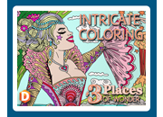 Intricate Coloring 3: Places of Wonder